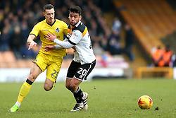 Billy Bodin of Bristol Rovers takes on Kiko of Port Vale - Mandatory by-line: Robbie Stephenson/JMP - 18/02/2017 - FOOTBALL - Vale Park - Stoke-on-Trent, England - Port Vale v Bristol Rovers - Sky Bet League One