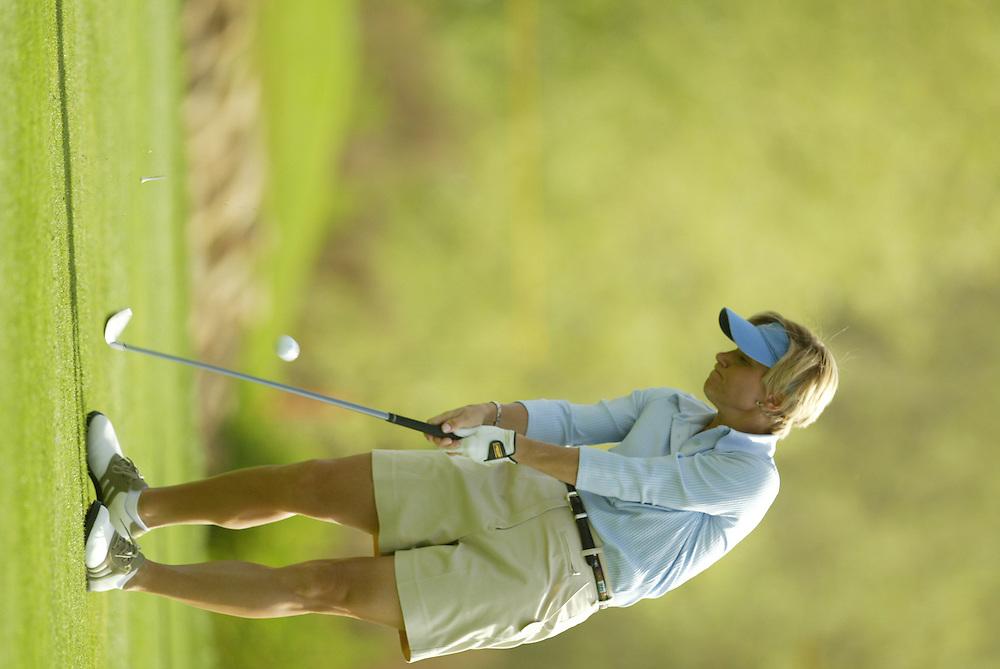 Suzy Green-Roebuck..LPGA Welch's Fry's Round 2..Dell Urich GC at Randolph Park..Tucson, AZ..March 13, 2003..Photograph by Darren Carroll ..X67922
