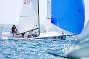 Viper Class racing during the Bacardi Miami Sailing Week regatta, day 3.