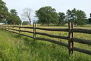 Split rail fence at Appleton Farms, Ipswich, MA