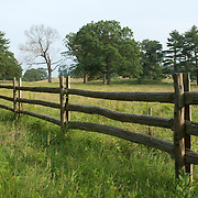 Split rail fence at Appleton Farms, Ipswich, MA