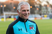 ARNHEM - 27-03-2017, Jong Vitesse - Jong AZ, Sport center Papendal, Jong AZ trainer Martin Haar