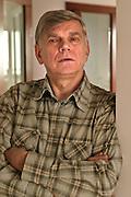 13.04.2006 Warszawa. Psychoterapeuta mgr Andrzej Ballaun. Fot. Piotr Gesicki. Andrzej Ballun polish psychotherapist photo Piotr Gesicki