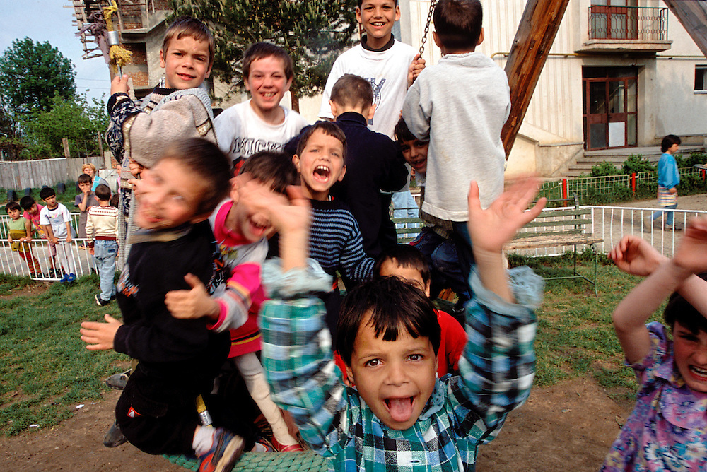 Happy Children, Orphanage, Botosani, Romania