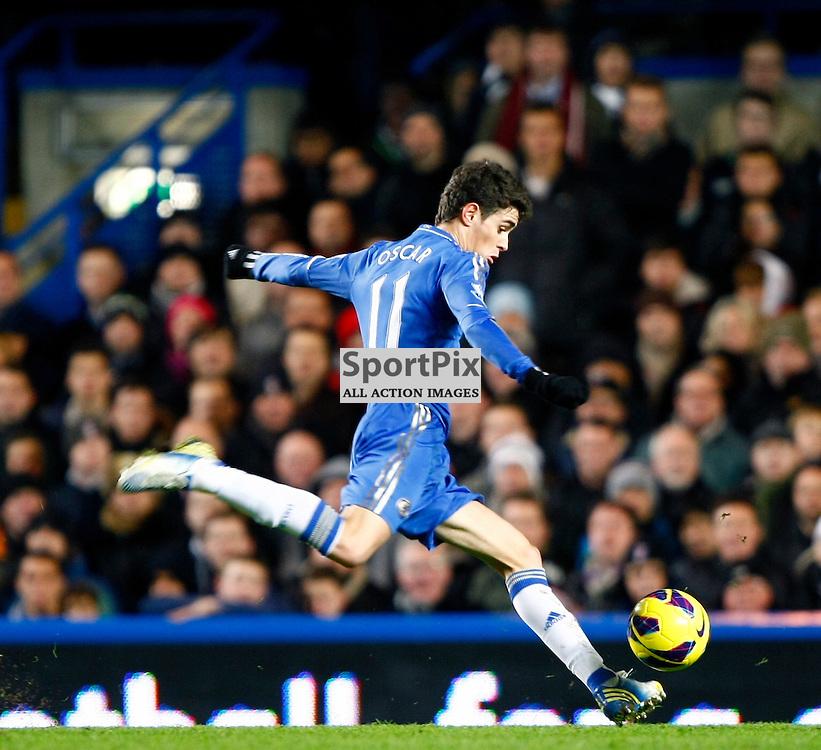 Oscar. Chelsea v Fulham, Premiership, Stamford Bridge London, (c) MATT BRISTOW   STOCKPIX.EU 28 November 2012