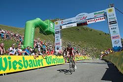 10.07.2015, Kitzbühel, AUT, Österreich Radrundfahrt, 6. Etappe, Lienz auf das Kitzbühler Horn, im Bild Ben Hermans (BEL, 2. Platz Etappe) // 2nd placed stage Ben Hermans of Belgium during the Tour of Austria, 6th Stage, from Lienz to the Kitzbühler Horn, Kitzbühel, Austria on 2015/07/10. EXPA Pictures © 2015, PhotoCredit: EXPA/ Reinhard Eisenbauer
