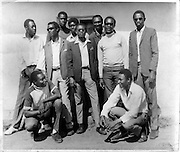 Members of the Young Rovers Sports Club, the oldest Nubian youth group in existence.  (circa 1960s)