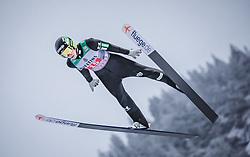 30.12.2018, Schattenbergschanze, Oberstdorf, GER, FIS Weltcup Skisprung, Vierschanzentournee, Oberstdorf, 2. Wertungsdurchgang, im Bild Timi Zajc (SLO) // Timi Zajc of Slovenia during his 2nd Competition Jump for the Four Hills Tournament of FIS Ski Jumping World Cup at the Schattenbergschanze in Oberstdorf, Germany on 2018/12/30. EXPA Pictures © 2018, PhotoCredit: EXPA/ Stefanie Oberhauser