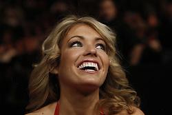 Dec 12, 2009; Memphis, TN, USA; Octagon Girl Natasha Wicks at UFC 107 at the FedEx Forum in Memphis, TN.