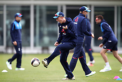 England's Dom Bess during the nets session at Lord's, London.