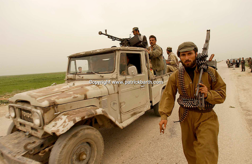 ABUSHITA, NORTHERN IRAQ - April 6:  <br />