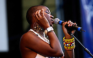 (July 5, 2006) India Arie  At The Taste Of Chicago.