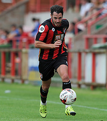 Bournemouth's Adam Smith- Photo mandatory by-line: Harry Trump/JMP - Mobile: 07966 386802 - 18/07/15 - SPORT - FOOTBALL - Pre Season Fixture - Exeter City v Bournemouth - St James Park, Exeter, England.
