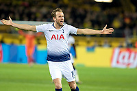 Football - 2018 / 2019 UEFA Champions League - Round of Sixteen, Second Leg: Borussia Dortmund (0) vs. Tottenham Hotspur (3)<br /> <br /> Harry Kane (Tottenham FC)  appeals to the referee after an offside decision at Signal Iduna Park (Westfalenstadion).<br /> <br /> COLORSPORT/DANIEL BEARHAM