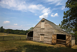 Meeks Stable, Appomattox Court House National Historical Park, Appomattox, Virginia.