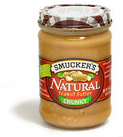 smuckers natural chunky peanut butter spread