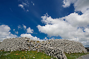 Caherconnell Fort is an ancient and exceptionally well-preserved Celtic stone ringfort (500 to 1500 CE) in the Burren.<br /> From summer 2010, Caherconnell has been home to an archaeological field school where students can learn archaeological techniques from leading archaeologists