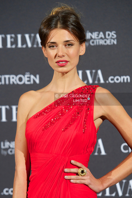 Natasha Yarovenko attends Telva Awards 2012 at Hotel Palace on November 6, 2012 in Madrid, Spain