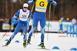 MODIN Zebastian Guide: ACKEROT Albin, SWE at the 2014 IPC Nordic Skiing World Cup Finals - Sprint