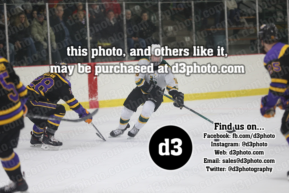 Men's Ice Hockey: St. Norbert College Green Knights vs. University of Wisconsin-Stevens Point Pointers