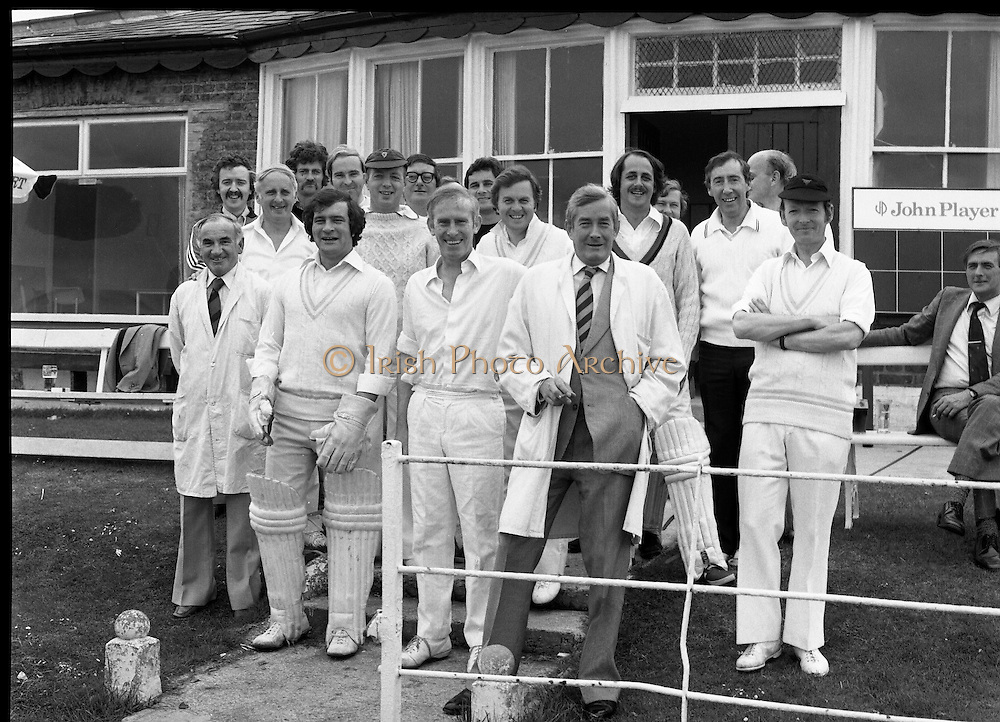 Cricket Match, Phonix Club 18/07/1978