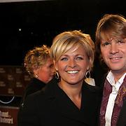 NLD/Amsterdam/200801010 - Premiere Sunset Boulevard, Caroline Tensen en Peter Gallas
