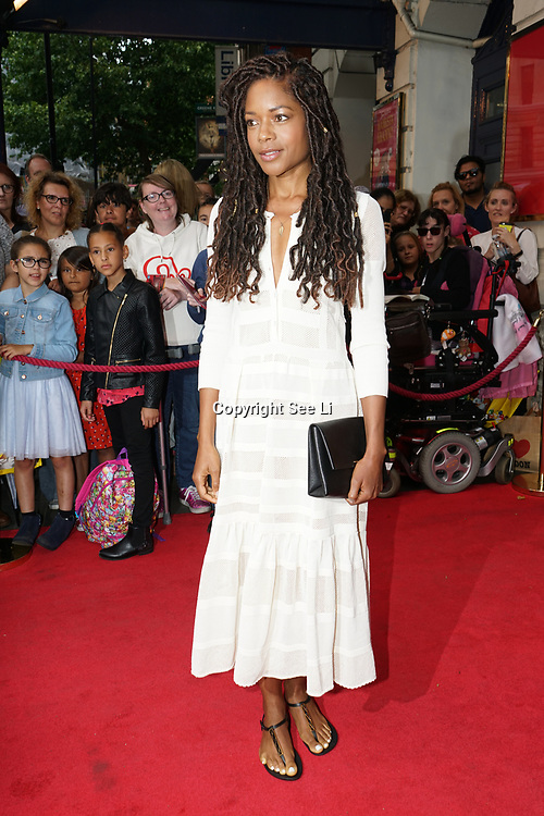Garrick Theatre , London,UK. 2nd August 2017. Naomie Harris attends the Gangsta Granny - press performances.