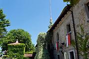 Italy, Collio. San Floriano del Collio. Castello Formentini.