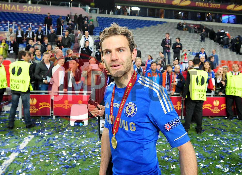Chelsea's Juan Mata - Photo mandatory by-line: Joe Meredith/JMP - Tel: Mobile: 07966 386802 06/05/2013 - SPORT - FOOTBALL - EUROPA LEAGUE FINAL - Amsterdam Arena - Amsterdam - Benfica v Chelsea - Europa League Final