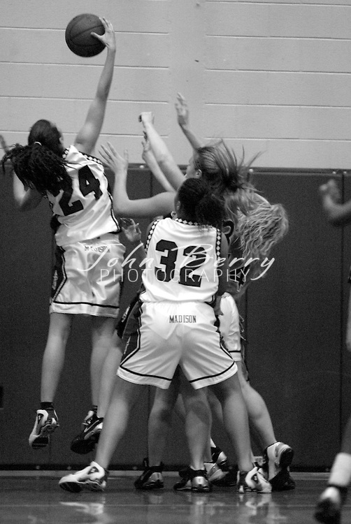 MCHS Varsity Girls Basketball..vs Orange..Second Period..December 18, 2004