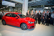 King Philippe visit Audi Forest
