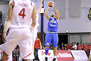 DESCRIZIONE : Qualificazioni EuroBasket 2015 Svizzera-Italia <br /> GIOCATORE : Pietro Aradori <br /> CATEGORIA : nazionale maschile senior A GARA : Qualificazioni EuroBasket 2015 Svizzera-Italia <br /> DATA : 27/08/2014 <br /> AUTORE : Agenzia Ciamillo-Castoria