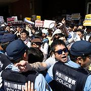 Hate Speech counter protest in Kawasaki 2018