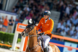 Houtzager Marc, NED, Sterrehofs Calimero<br /> European Championship Dressage<br /> Rotterdam 2019<br /> © Hippo Foto - Stefan Lafrentz