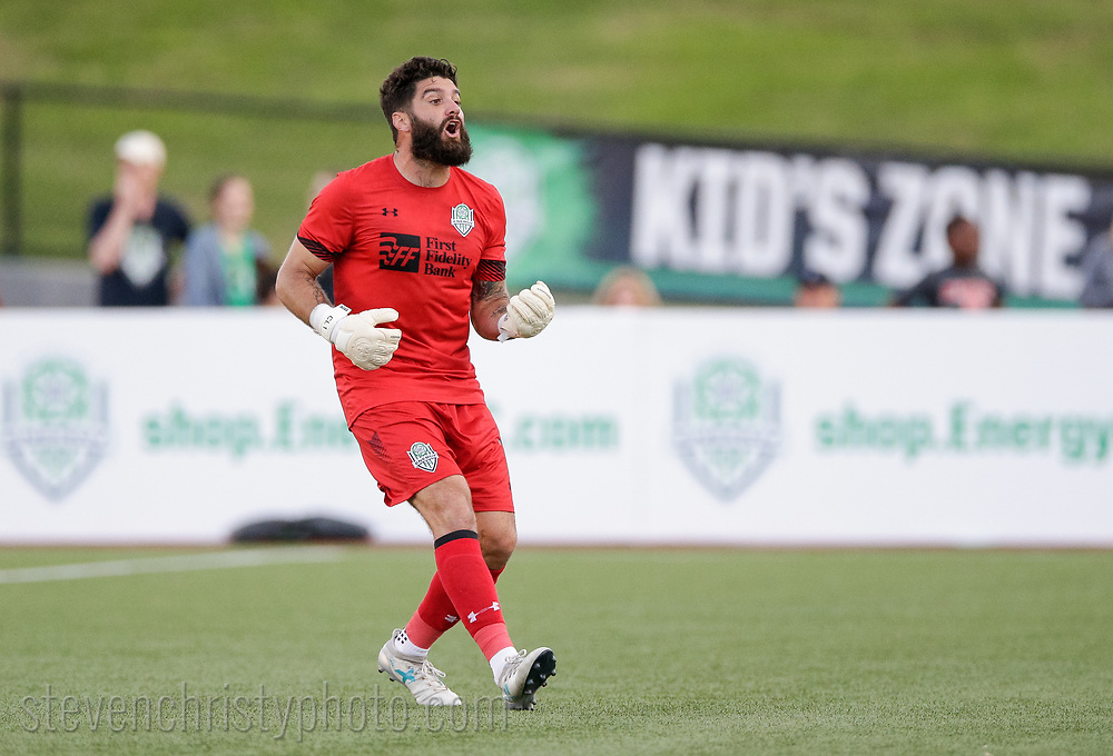 May 18, 2019: OKC Energy FC plays the Real Monarchs SLC in a USL match at Taft Stadium in Oklahoma City, Oklahoma.