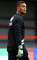 Rhys Lovett of Cheltenham Town warms up - Mandatory by-line: Nizaam Jones/JMP- 28/07/2018 - FOOTBALL - Jonny-Rocks Stadium - Cheltenham, England - Cheltenham Town v Walsall - Pre-season friendly