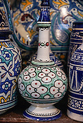 Moroccan Ceramics. Photographed in Fes, Morocco
