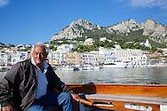 Alejandro, Capri boat captain, Capri Harbor, Italy