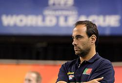 08-06-2014 NED: WLV Nederland - Portugal, Almere<br /> Coach Hugo Silva