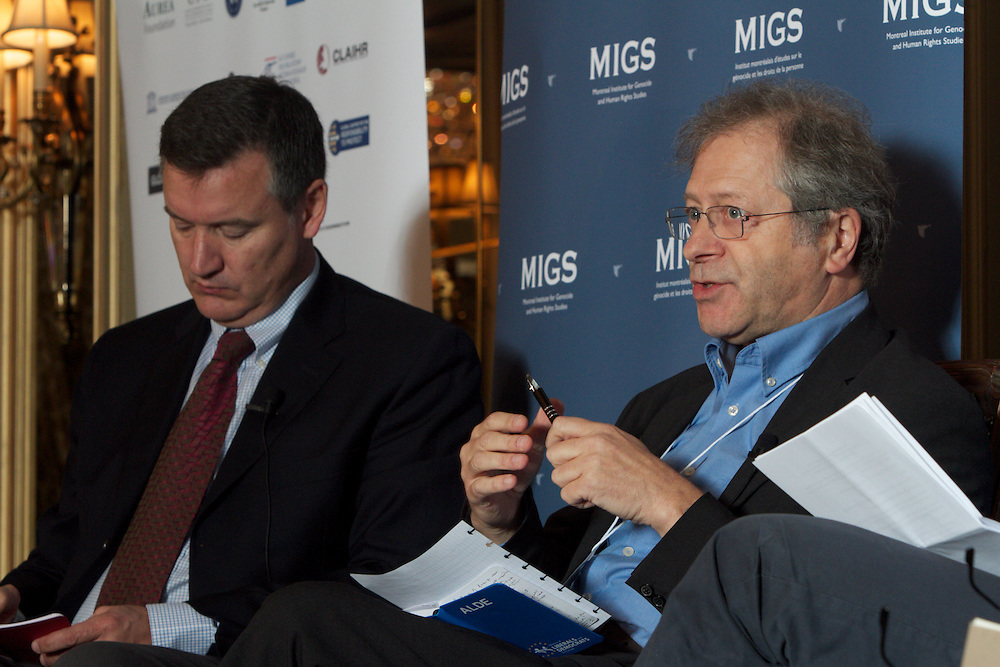 MIGS Conference 2011..Panel 1..The Responsibility to Report: Can the Media Make a Difference?