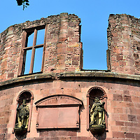 Heidelberg Castle Thick Tower in Heidelberg, Germany <br />