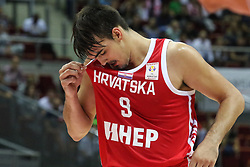 September 17, 2018 - Gdansk, Poland - Dario Saric (9) of Croatia in action is seen in Gdansk, Poland on 17 September 2018  Poland faces Croatia during the Basketball World Cup China 2019 Qualifiers game in the ERGO Arena sports hall in Gdansk  (Credit Image: © Michal Fludra/NurPhoto/ZUMA Press)