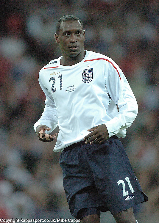 EMILE HESKEY, ENGLAND, ENGLAND v CZECH REPUBLIC, International Friendly, Wembley Stadium Wednesday 20th August 2008