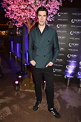 Clym Evernden at the launch of Nobu Hotel London Shoredith,10-50 Willow Street, London, England. 15 May 2018.