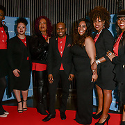 B Positive Choir performs at Awareness gala hosted by the Health Committee with live music and poetry performances at City Hall at The Queen's Walk, London, UK. 18 March 2019.