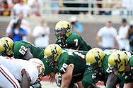USF's Red Shirt Freshman B.J. Daniels ran for 126 yards, threw two touchdown passes and accounted for 341 of USF's 368 yards of offense.  USF defeated No. 18 FSU 17-7, Saturday, 26 Sep 09, at Doak Campbell Stadium in front of 12,000 fans. First meeting between the schools and was viewed by FSU's biggest home crowd in four years.