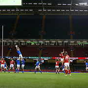 Cardiff 11/03/2018, Principality Stadium<br /> Natwest 6 nations 2018 Femminile<br /> Galles vs Italia