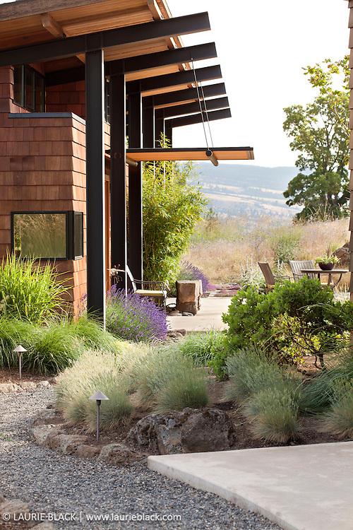 Columbia Gorge garden entry