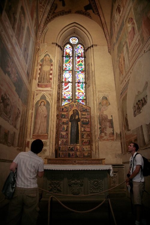 Santa Croce, interior, Florence, Italy, Florence, Italy