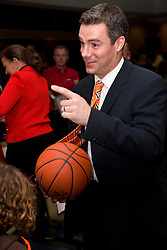 Tony Bennett was introduced at the new head coach of the University of Virginia's men's basketball program at a press conference held at the John Paul Jones Arena in Charlottesville, VA on April 1, 2009.
